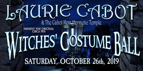 Laurie Cabot & The Cabot Kent Hermetic Temple Witches Costume Ball 2019 tickets