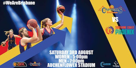 Brisbane Capitals v Sunshine Coast Phoenix tickets
