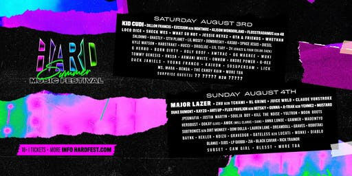 HARD Summer Music Festival 2019
