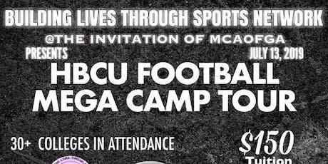 2019 HBCU FOOTBALL MEGA CAMP TOUR tickets