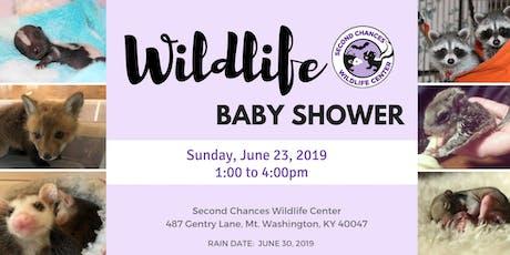Second Chances Wildlife Baby Shower tickets