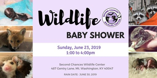 Second Chances Wildlife Baby Shower