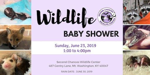 Second Chances Wildlife Baby Shower