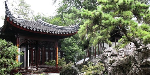 Chinese and Japanese Garden Design. One Day Workshop on 23 April 2020.