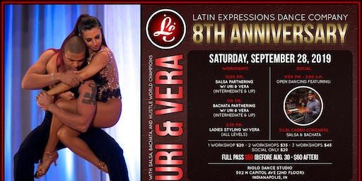 LE 8th Anniversary with WORLD CHAMPIONS Uriel Garcia & Vera Rowe!