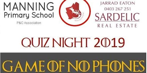 Manning Primary Quiz Night 2019