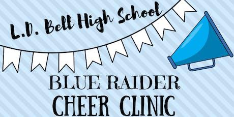 L.D. Bell Cheer Mini Clinic tickets