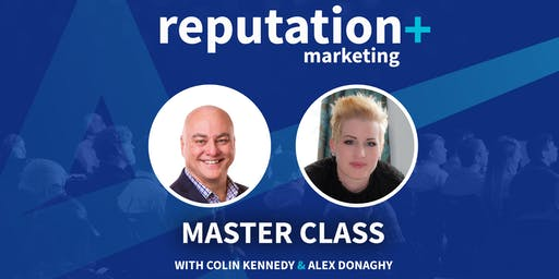 Reputation + Marketing Masterclass 2019 (includes light lunch)