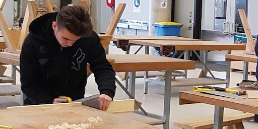 Trades - Carpentry - Chisholm Winter School Holiday Workshops 2019