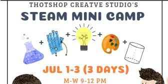 S.T.E.A.M Mini Art Camp