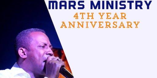 4th Year Anniversary @marsministry
