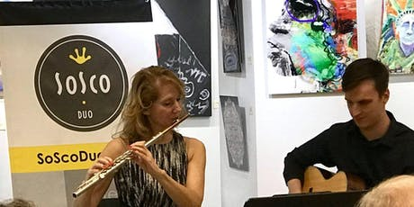 """SoSco Flute & Guitar Duo Challenges You-""""Name That Tune: Classical Edition"""" tickets"""