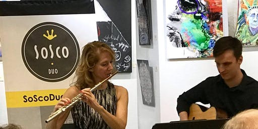 """SoSco Flute & Guitar Duo Challenges You-""""Name That Tune: Classical Edition"""""""