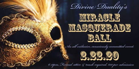 Miracle Masquerade Ball tickets