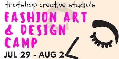 Fashion & Design Art Camp
