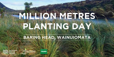 Million Metres Planting Day – Baring Head tickets