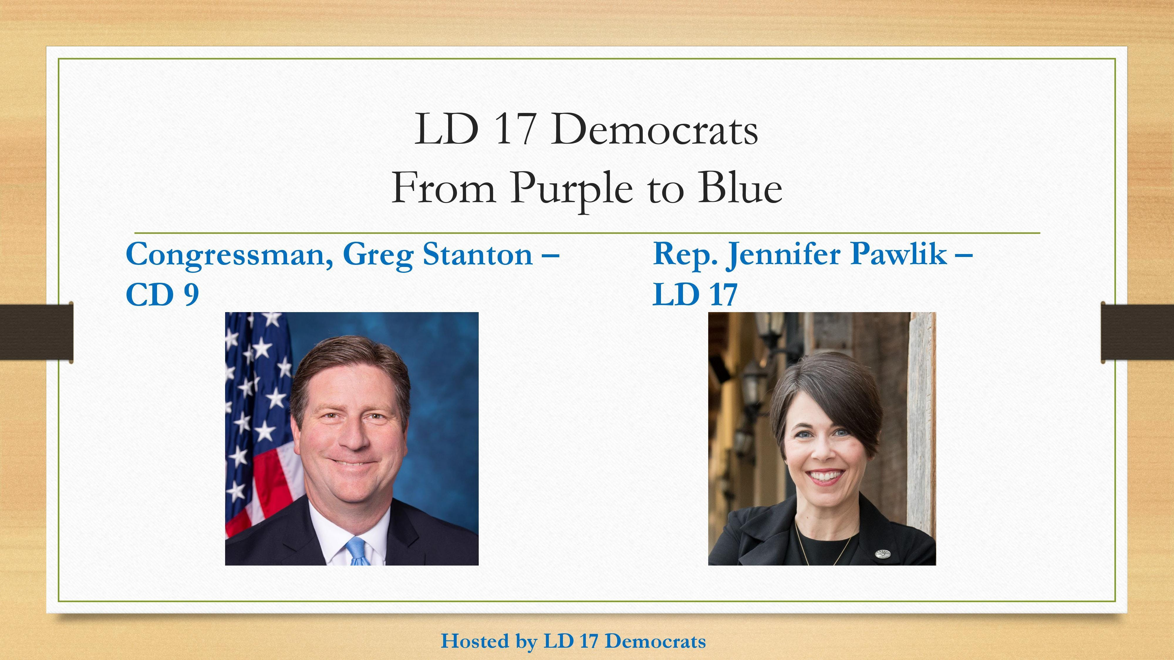 LD 17 Democrats - From Purple to Blue