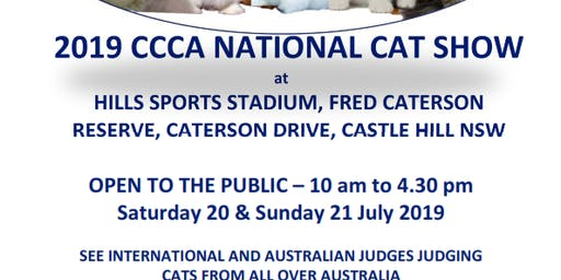 2019 CCCA NATIONAL CAT SHOW