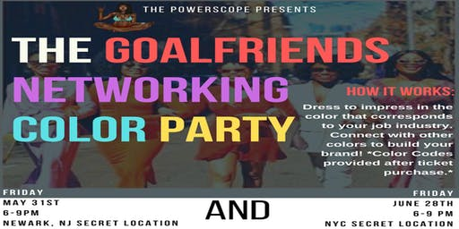 The Goalfriends Networking Color Party NYC