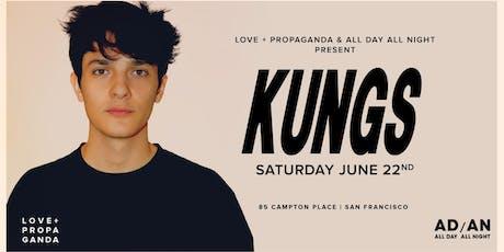 Kungs at Love + Propaganda | 6.22.19 tickets