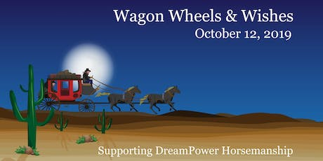 """""""Wagon Wheels & Wishes"""" - Wine Dine and Equine 2019 tickets"""