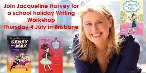 Writing Workshop with Jacqueline Harvey