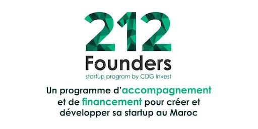 212 Founders by CDG Invest | Afterwork Entrepreneurs Casablanca #4