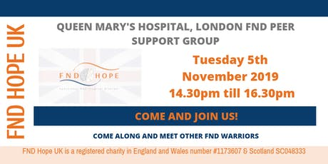 QMH London Peer Support Group tickets