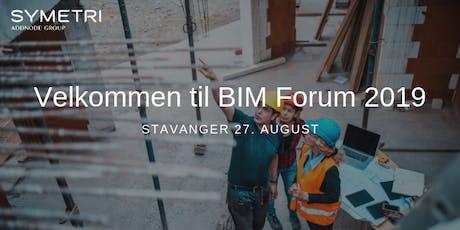 Symetri BIM Forum 2019 - Stavanger tickets