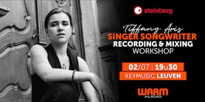 Singer Songwriter Recording & Mixing workshop KEYMUSIC Leuven