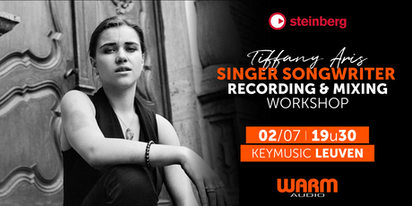 Singer Songwriter Recording & Mixing workshop KEYMUSIC Leuven tickets
