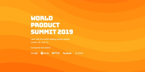World Product Summit 2019