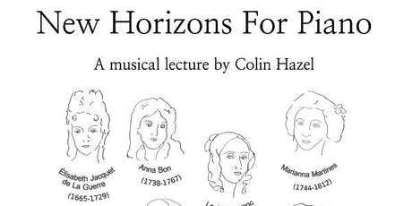New Horizons for Piano tickets