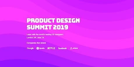 Product Design Summit 2019 tickets