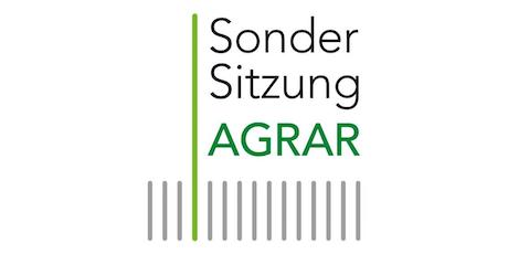 Sondersitzung AGRAR: Halbzeit! Agrarpolitik auf dem Prüfstand Tickets
