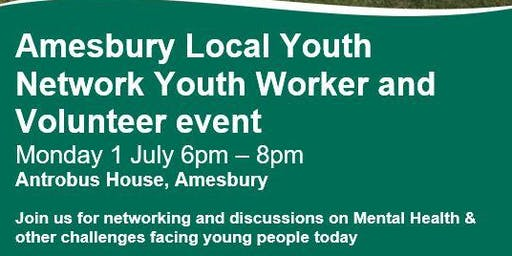 Local Youth Network Youth Worker & Volunteer event