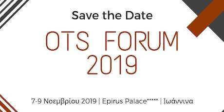OTS Forum 2019 tickets