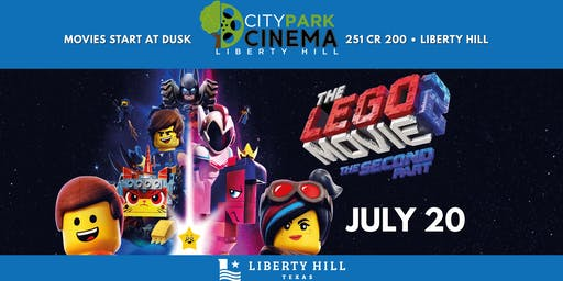 Liberty Hill Movie in the Park - The Lego Movie 2