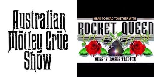 Australian Mötley Crüe Show & Rocket Queen Guns & Roses Show