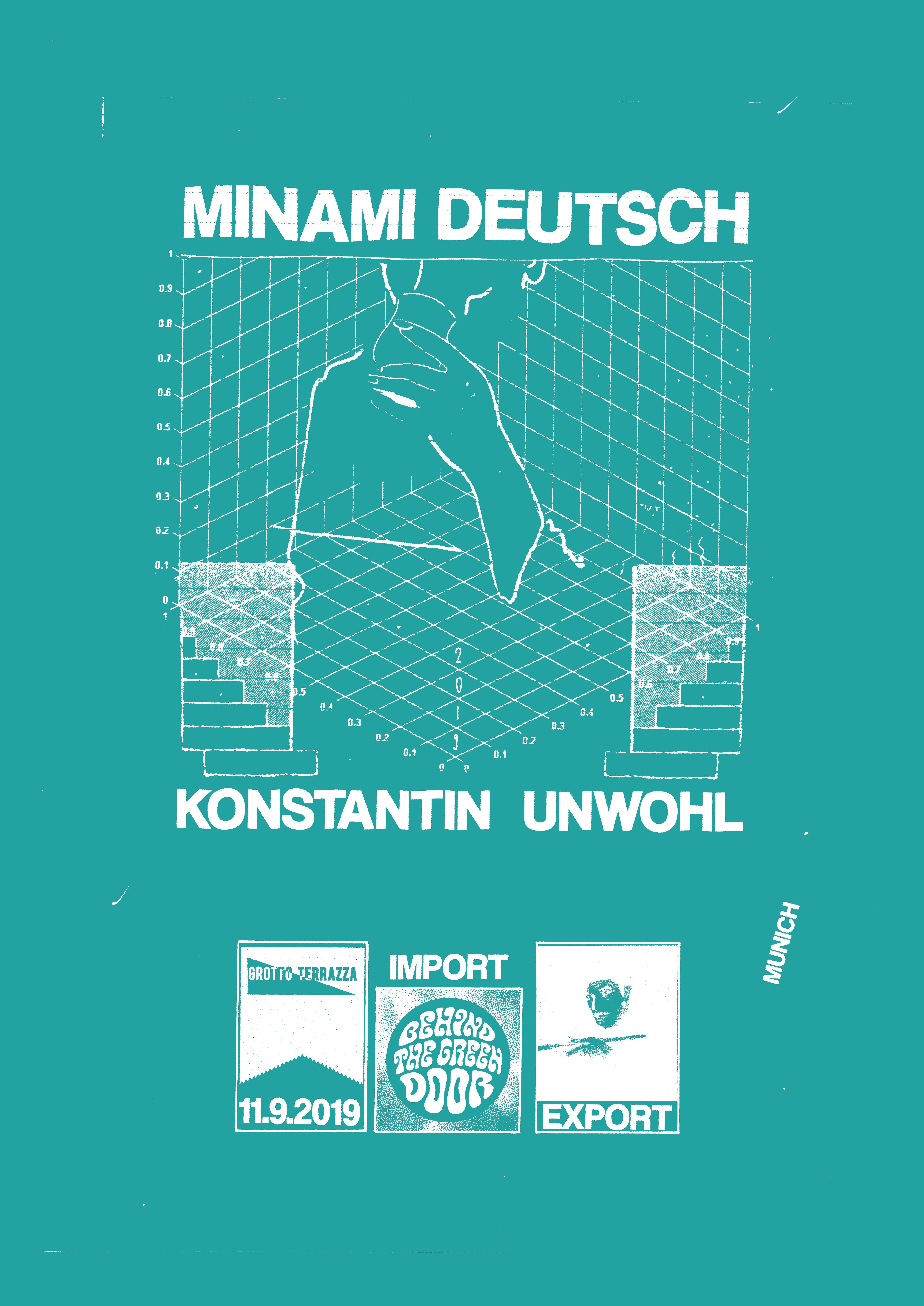 Minami Deutsch Konstantin Unwohl Muc At Import Export