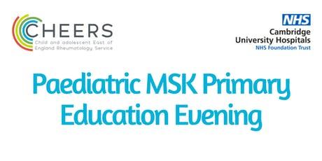 Paediatric MSK Primary Care Education Evening tickets