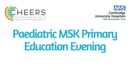 Paediatric MSK Primary Care Education Evening