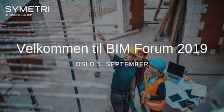 Symetri BIM Forum 2019 - Oslo tickets