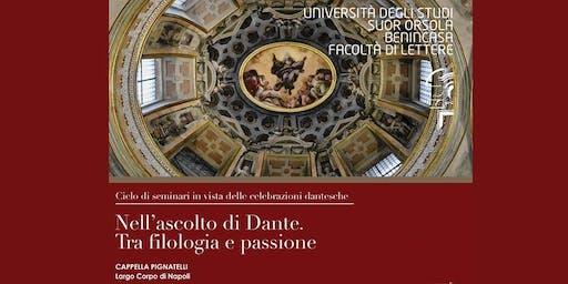 Nell'ascolto di Dante. Tra filosofia e passione