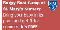 Free Buggy Boot Camp at St. Mary's Nursery, Henley