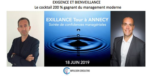 Exillance Tour Annecy : Soirée de confidences managériales - Mardi 18 juin 2019
