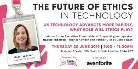 The Future of Ethics in Technology tickets