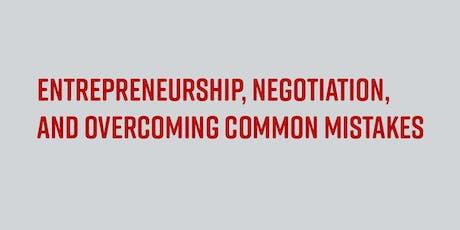 Entrepreneurial Negotiation tickets