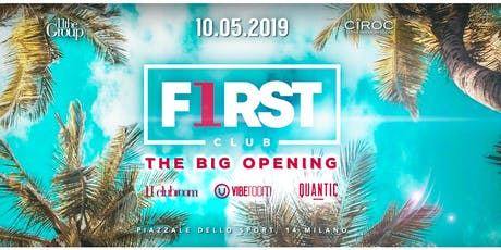 First Club New Summer Garden in Milan  biglietti