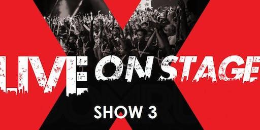 SHOW 3 (18:30 - 20:30)  LIVE ON STAGE - HOOMRUN DANCE STUDIOS